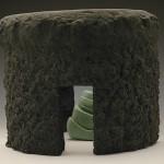 "El Caracol, C-1, 2000-01 Ceramic, 11"" x 13"" x 13"""
