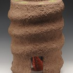 "El Caracol, C-7, 2006  Ceramic, 18"" x 14"" x 14"""