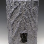 "El Caracol, C-8, 2006  Ceramic, 18"" x 13"" x 13"""