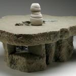"""El Cenote, C-4, 2006 Ceramic, 12.5"""" x 25"""" x 18"""""""
