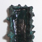 Na Pali Coast, 2011 Ceramic, Detail View