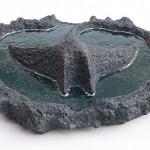 "Otra Bora Bora Manta, 2011 Ceramic, 6"" x 22.5"" x 17.5"""