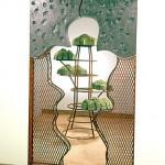"""El Portal de la Memoria, 1993-94 Ceramic & Steel, 96"""" x 60"""" x 7"""""""