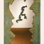 """Portal, 1986 Ceramic, 96"""" x 60"""" x 7"""""""