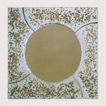 """Ventana del Cielo, 1991-93 Ceramic, 36"""" x 36"""" x 4.5"""""""
